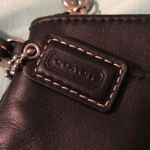 Coach Bags - ! Coach leather wristlet